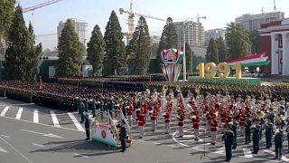 Parade zum 30. Unabhängigkeitstag