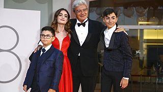 """Schauspielende aus dem Fiilm """"Qui Rio Io"""" auf dem Roten Teppich in Venedig"""