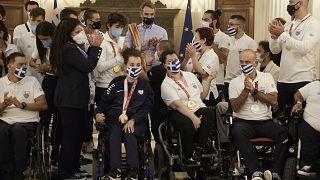 Τα μέλη της Ελληνικής αποστολής στους Παραολυμπιακούς του Τόκιο βρέθηκαν στο Μέγαρο Μαξίμου