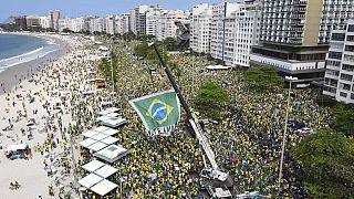 Бразилия: сторонники Жаира Болсонару осадили Верховный суд | Euronews