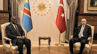 Erdogan, Tshisekedi discuss Turkey-Africa relations