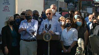 Joe Biden alerta para impacto das alterações climáticas