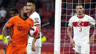 Hollanda Türkiye'yi 6-1 mağlup etti