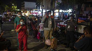 Στιγμιότυπο έξω από νοσοκομείο στη Βερακρούζ μετά τον ισχυρό σεισμό στο Μεξικό