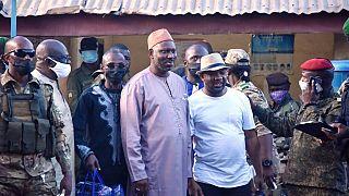 Guinea junta releases prisoners as it seeks popular backing