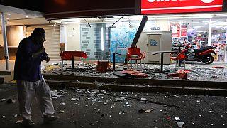 A mexikói földrengés után