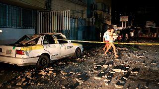 زلزال بفوة 7.1 درجة يضرب المكسيك