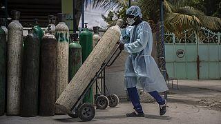 Kenya : pénurie d'oxygène dans les hôpitaux