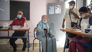 szavazás Marokkóban