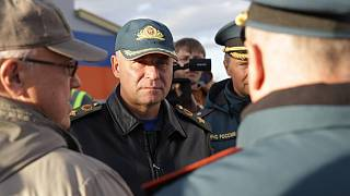 Yevgeny Zinichev had been sinpecting the progress of a new fire station in Norilsk.