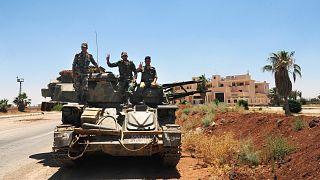 صورة أرشيفية لقوات النظام السوري