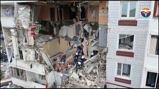 El accidente se produjo en un edificio de nueve plantas en la ciudad de Noginsk, a 50 km al este de Moscú.