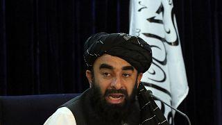 aliban Sözcüsü Zabihullah Mücahid
