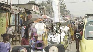 En RDC, le festival KinAct transforme les déchets en oeuvres d'art