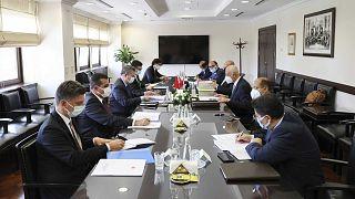 Türkiye-Mısır istişarelerinin ikinci turu, Dışişleri Bakan Yardımcısı Sedat Önal ve Mısırlı mevkidaşı Hamdi Loza başkanlığındaki heyetler arasında yapıldı