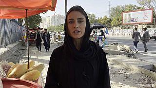 Anelise Borges, enviada especial de Euronews a Kabul, Afganistán