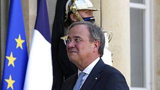 CDU-Kanzlerkandidat Armin Laschet in Paris
