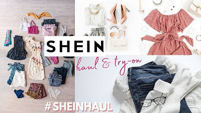 #SHEINHAUL has become a popular trend on social media, as influencers try on mountains of Shein products.