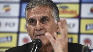 المدرب البرتغالي كارلوس كيروش.