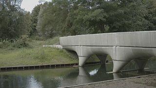 أطول جسر للدراجات مطبوع بالتقنية ثلاثية الأبعاد