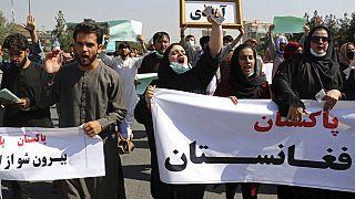 La manifestazione a Kabul del 7 settembre