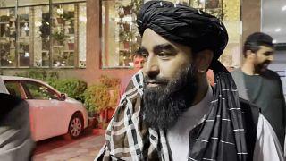 Zabihullah Mujahid (Taliban-Sprecher)