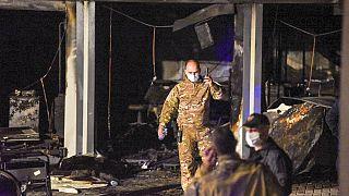 Kuzey Makedonya'da klinikte yangın