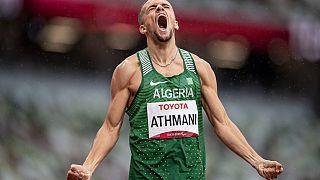Algérie : retour au pays des athlètes paralympiques