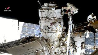 Zwischenfall auf der ISS: Rauchmelder schlägt an