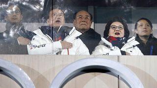 مقامات کره شمالی و جنوبی در مسابقات المپیک زمستانی ۲۰۱۸