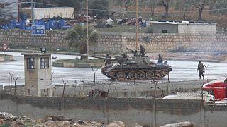 عکس آرشیوی از تانک ارتش سوریه در درعا