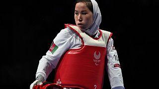 Afgan kadın sporcu