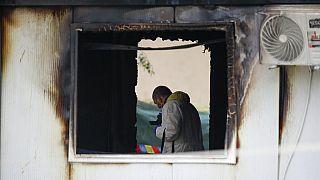 Helyszínelés a tűz után