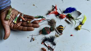 'It is God's country': Kenya's fly fishing fans chase bigger catch