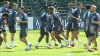 La selección alemana regresaba de Islandia, donde había vencido a los anfitriones por 4-0