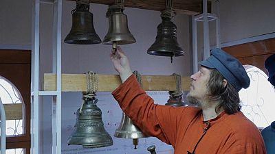 Bell ringer and deputy head of the Siberian Centre of Bell Ringing Aleksey Talashkin