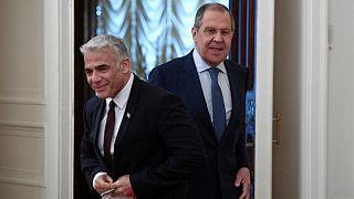 وزیر خارجه اسرائیل با همتای روس خود در مسکو دیدار و گفتگو کرد