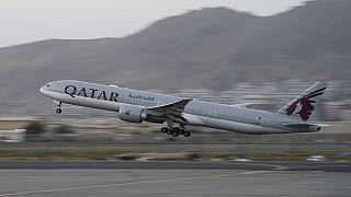 A felszálló repülőgép
