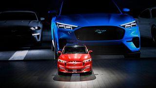 نمایشگاه خودرو در لسآنجلس، نوامبر سال ۲۰۱۹