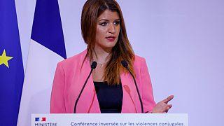 وزيرة المواطنة الفرنسية مارلين شيابا.