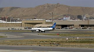 Afganistan'da yapılan iç uçuşlardan biri