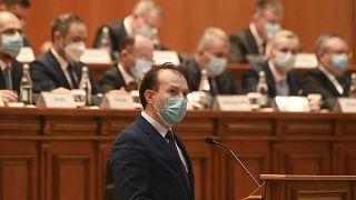 Il primo ministro della Romania Florin Citu
