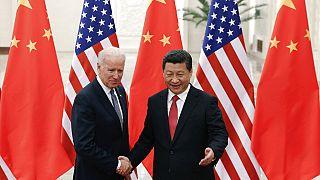 Chinese President Xi Jinping -U.S. President Joe Biden