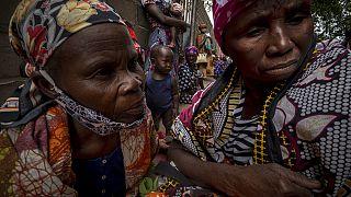 Donne del Mozambico - foto d'archivio