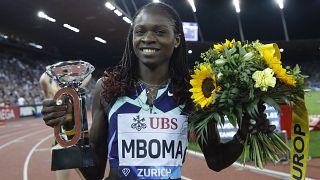 Namibian teenager Mboma storms Diamond League debut