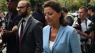 Agnès Buzyn, ce vendredi, à son arrivée à la Cour de justice de la République