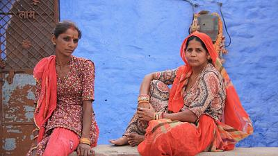 Two women in Rajasthan