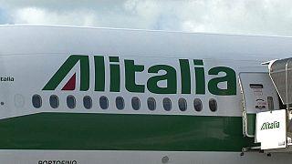 Самолёт итальянской авиакомпании Alitalia