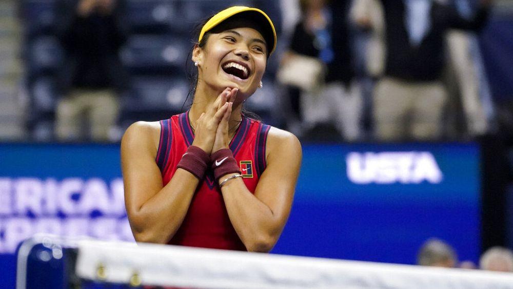 La británica Emma Raducanu en la primera final del US Open para adolescentes en 22 años