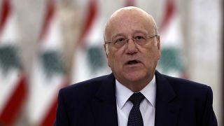 رئيس الحكومة اللبنانية الجديدة نجيب ميقاتي